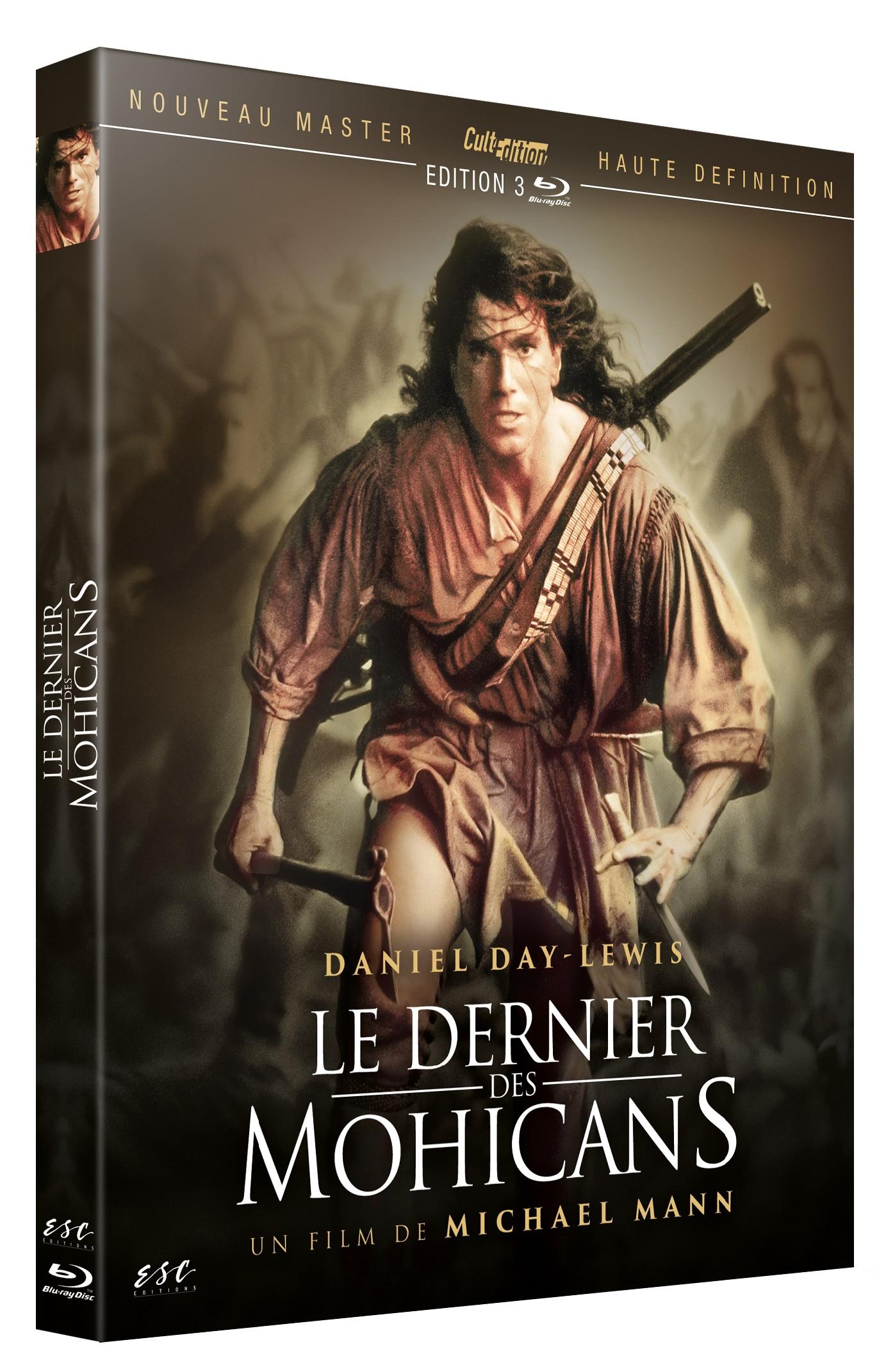 LE DERNIER DES MOHICANS - BRD (LE FILM DE MICHAEL MANN + LE FILM DE 1936 DE GEORGE B. SEITZ)