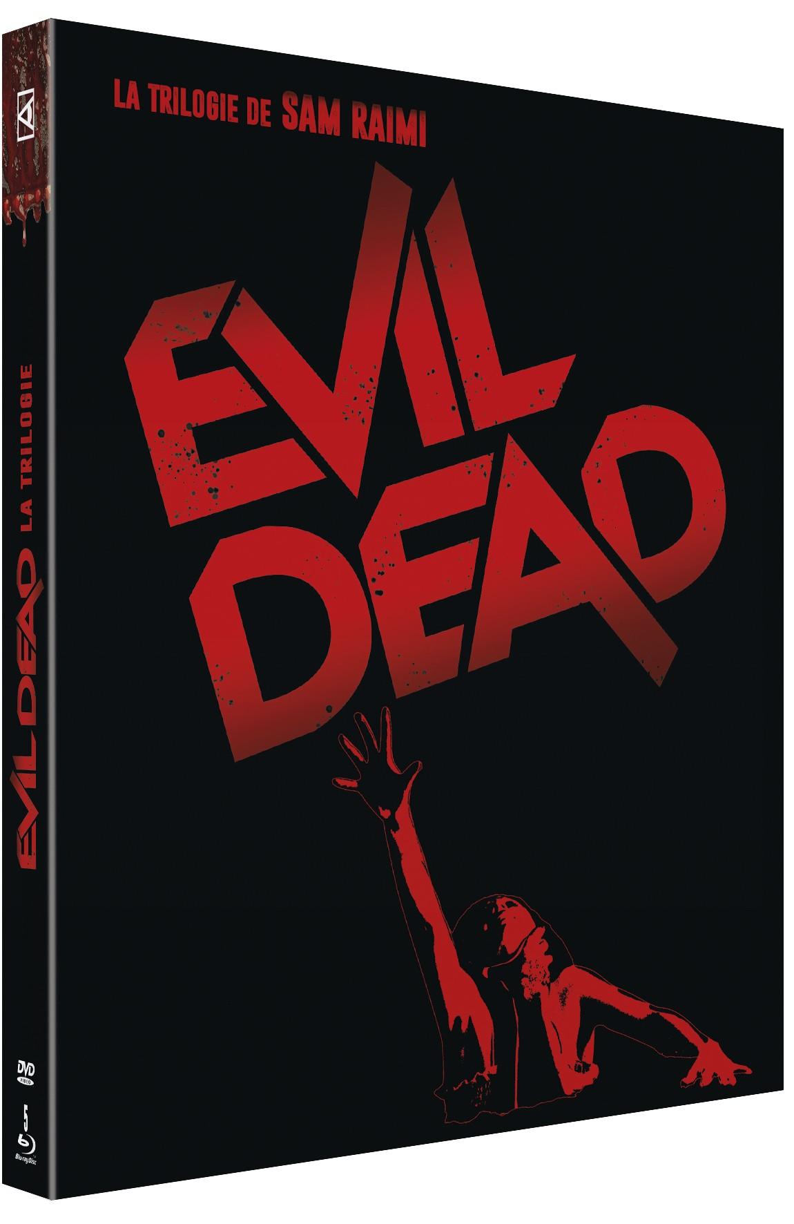 INTÉGRALE EVIL DEAD 1-2-3 - Blu-ray