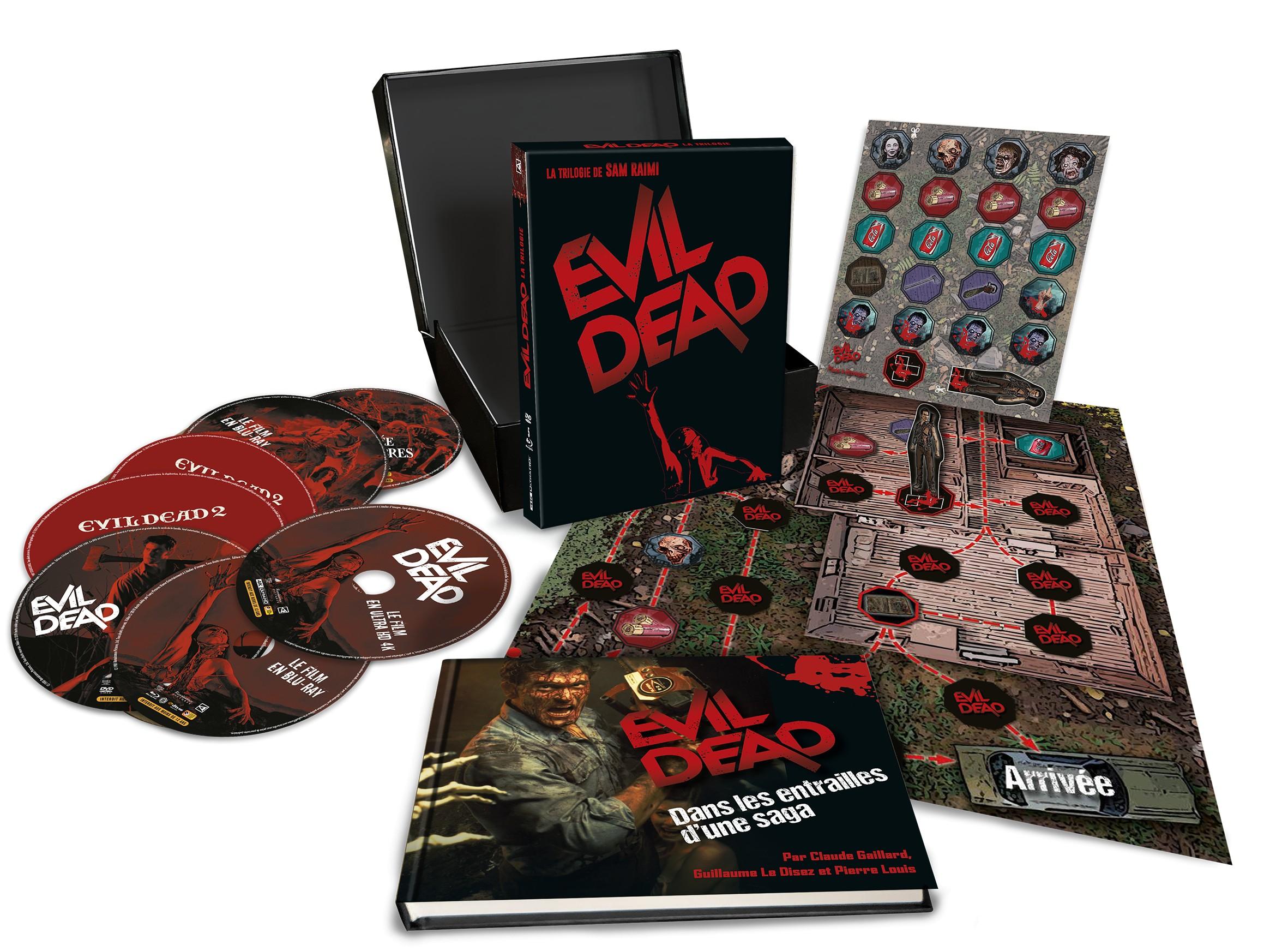 INTÉGRALE EVIL DEAD 1-2-3 - Blu-ray - Édition ultime