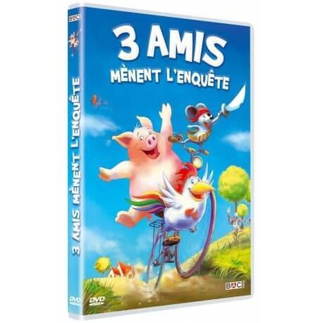 3 AMIS MENENT L'ENQUETE