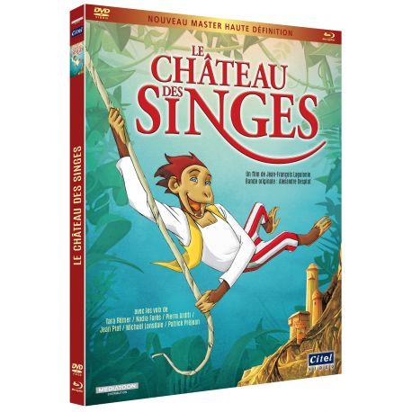LE CHÂTEAU DES SINGES - COMBO
