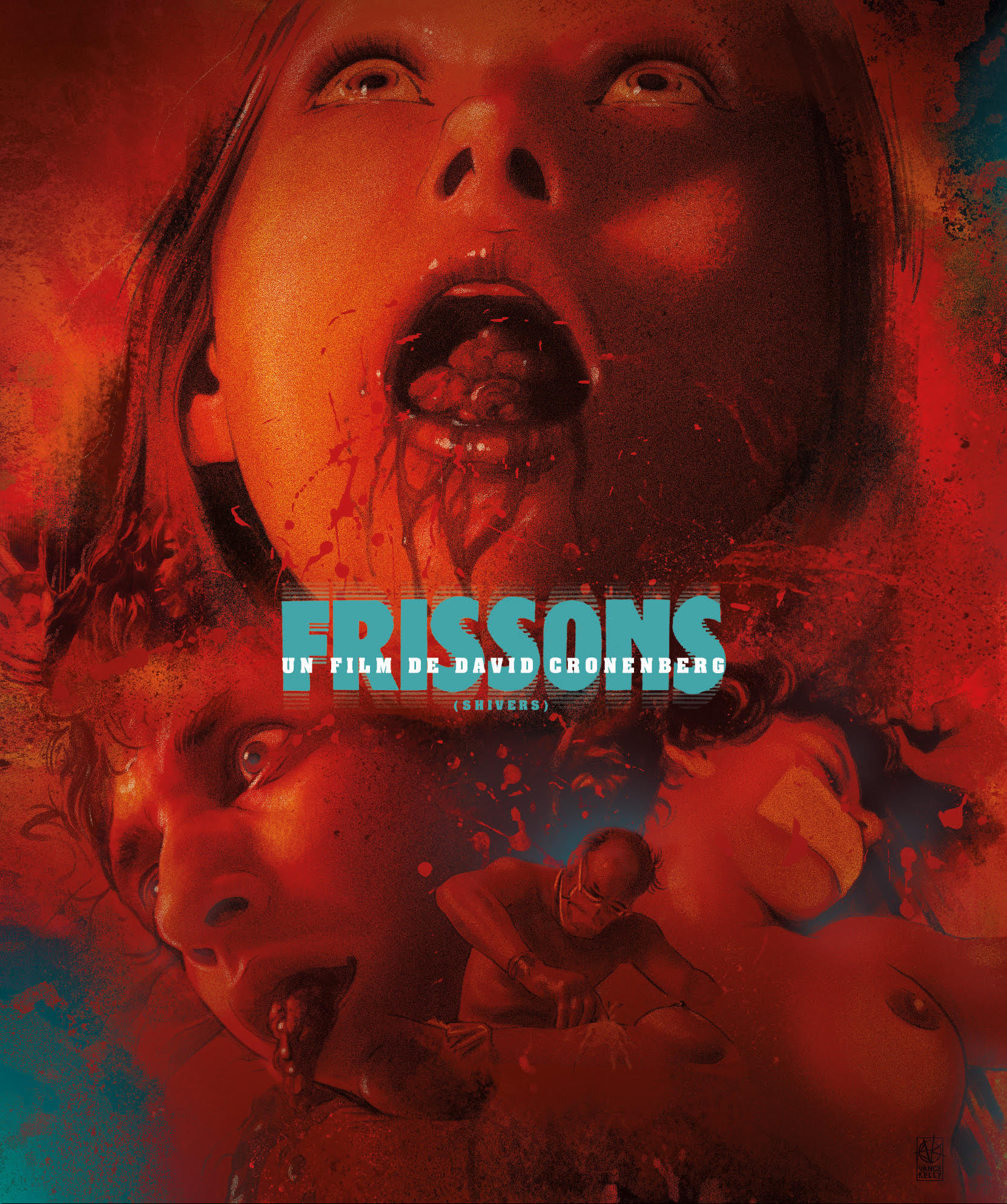FRISSONS (SHIVERS) - EDITION COLLECTOR LIMITEE