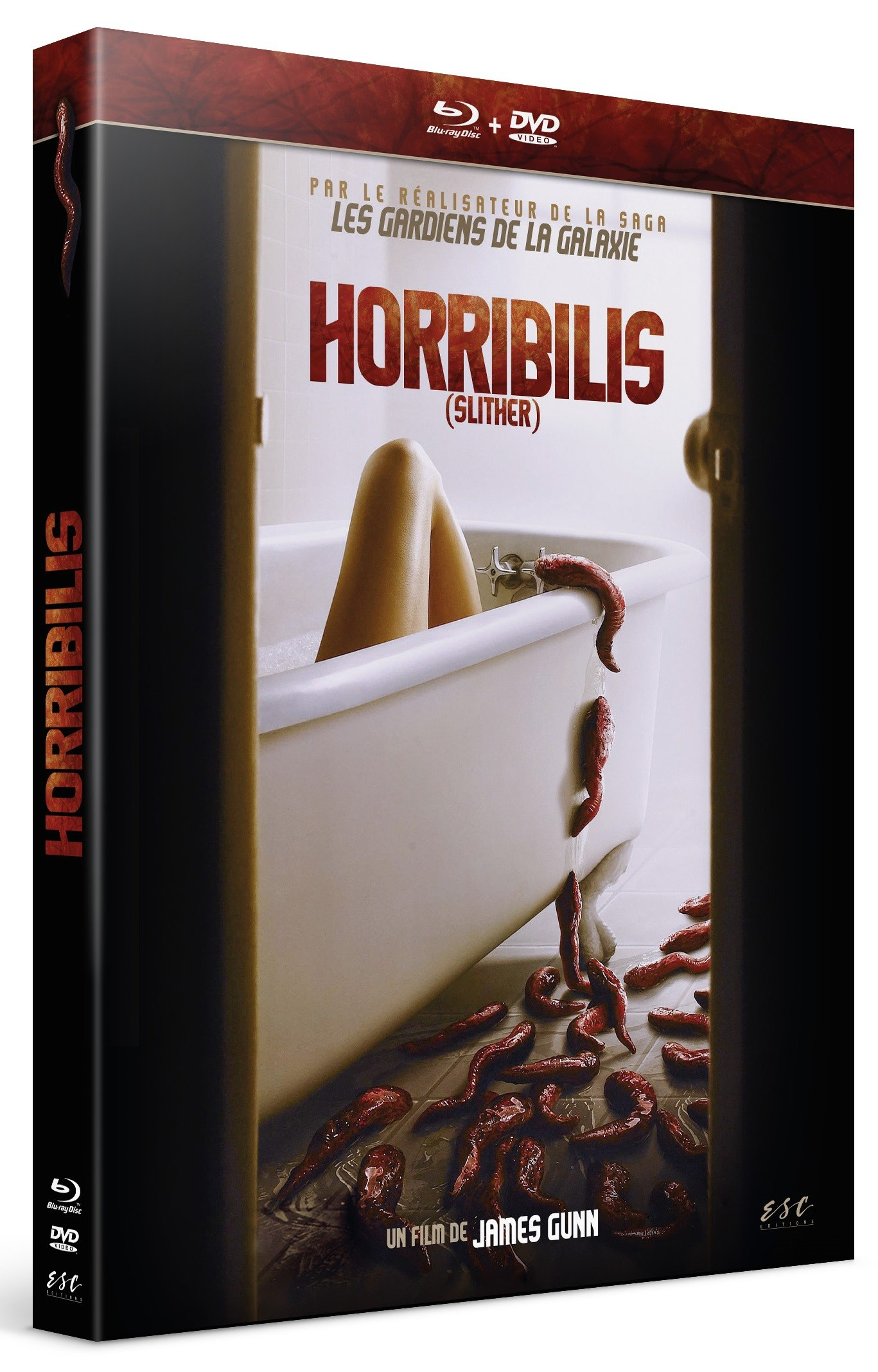 HORRIBILIS (SILTHER) - COMBO DVD + BLU-RAY