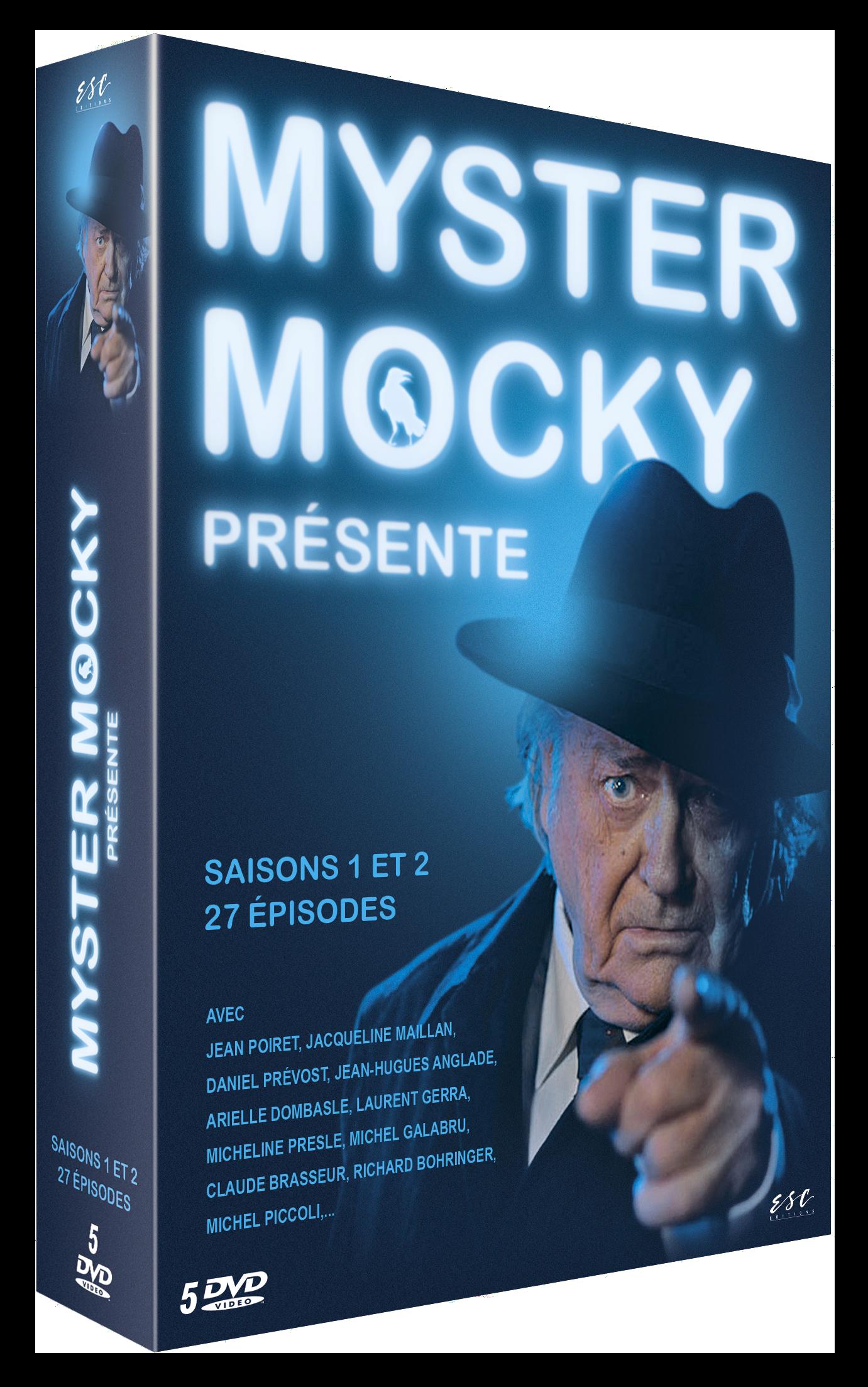 MYSTER MOCKY PRESENTE (Partie 1) - COFFRET 5 DVD
