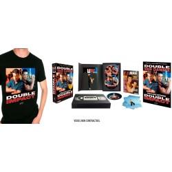 DOUBLE IMPACT - EDITION COLLECTOR  LIMITÉE BOITIER VHS + TEE SHIRT OFFERT