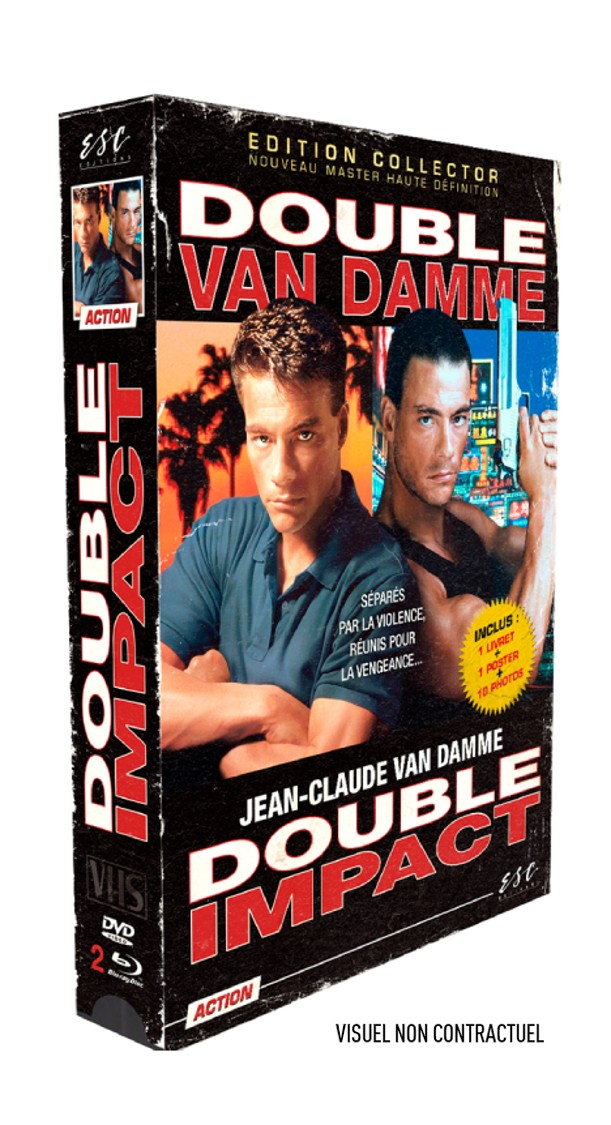 DOUBLE IMPACT - EDITION COLLECTOR  LIMITÉE BOITIER VHS