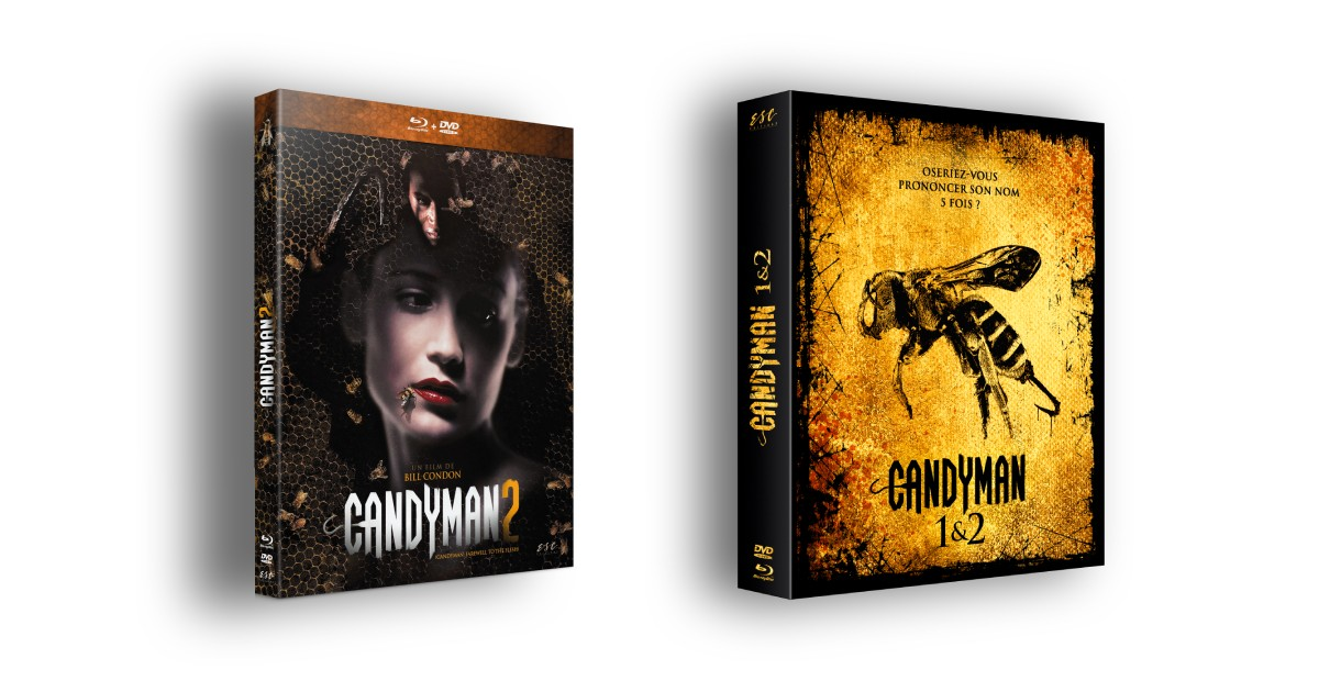 CANDYMAN 2 (CANDYMAN : FAREWELL TO THE FLESH) - COMBO + ETUI COLLECTOR OFFERT