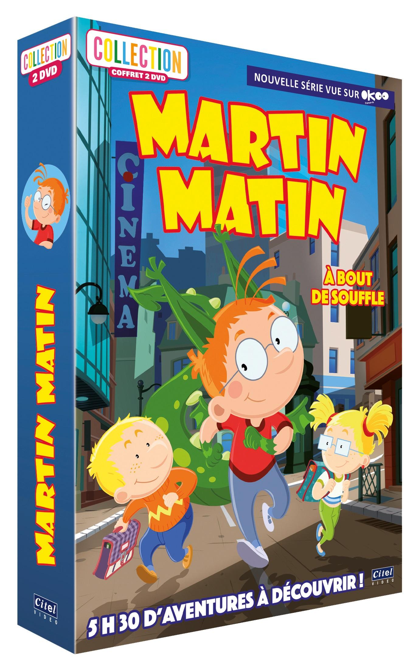 MARTIN MATIN NOUVELLE SAISON - COFFRET 2 DVD (A BOUT DE SOUFFLE)
