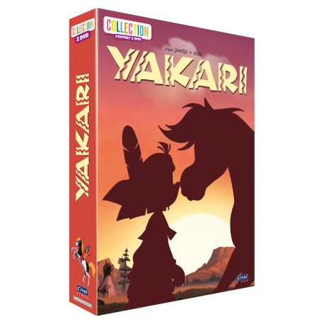 YAKARI - COLLECTION - COFFRET 2 DVD