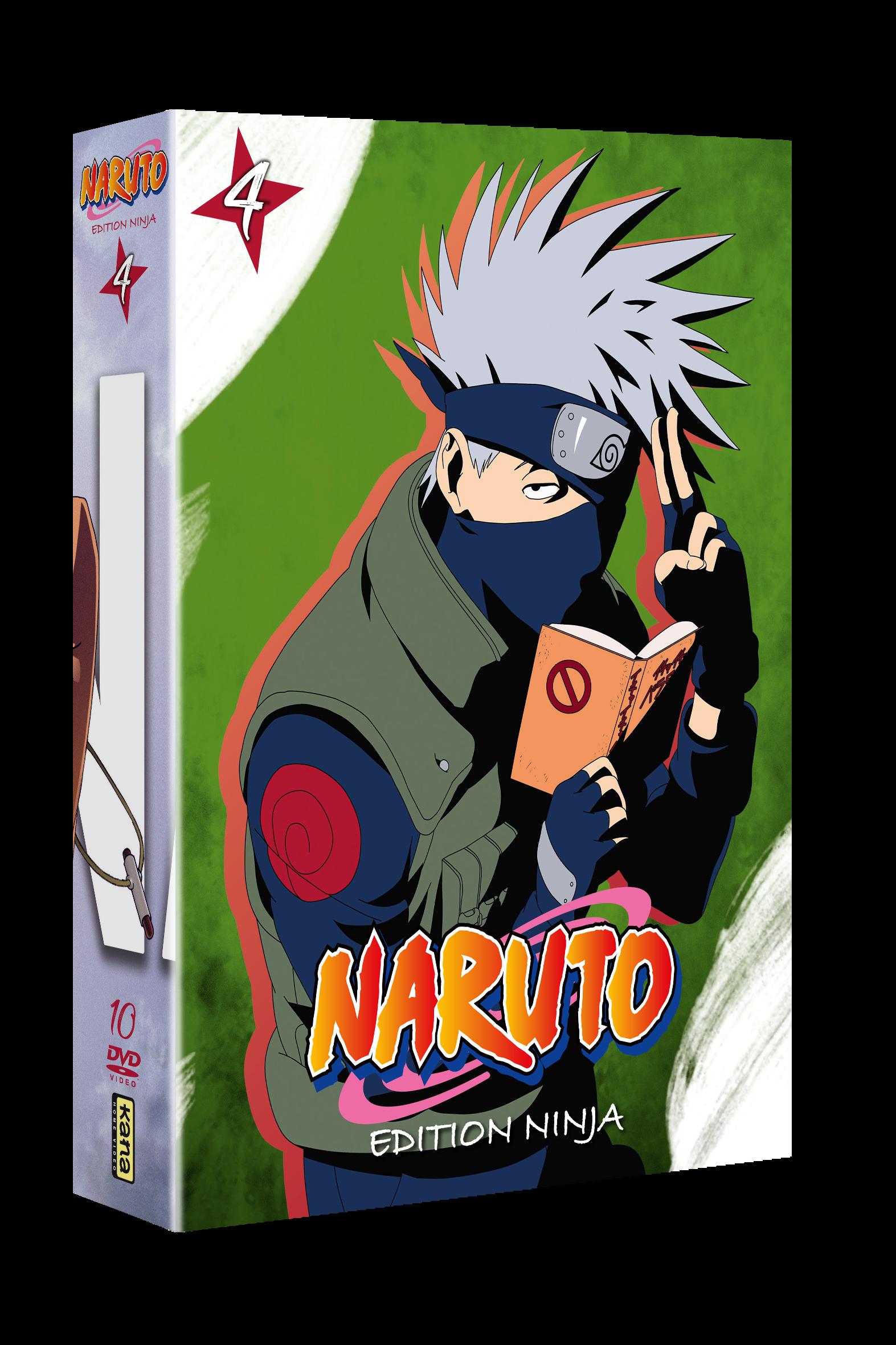 NARUTO coffret NINJA  4 - 10 DVD