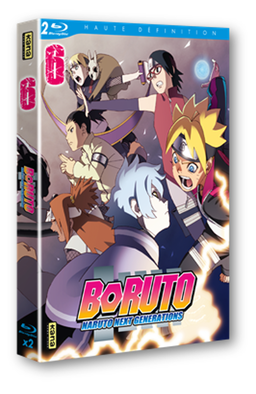 BORUTO NARUTO NEXT GENERATIONS VOL 6 - 2 BRD