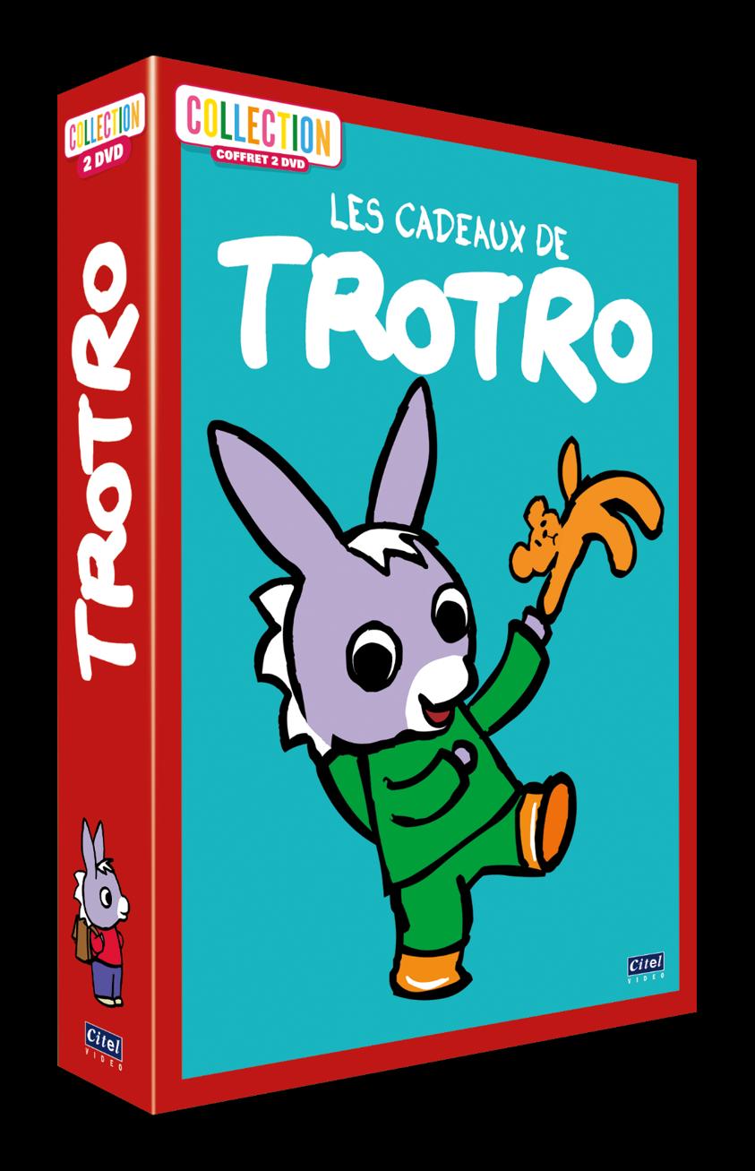LES CADEAUX DE TROTRO -  COFFRET 2 DVD