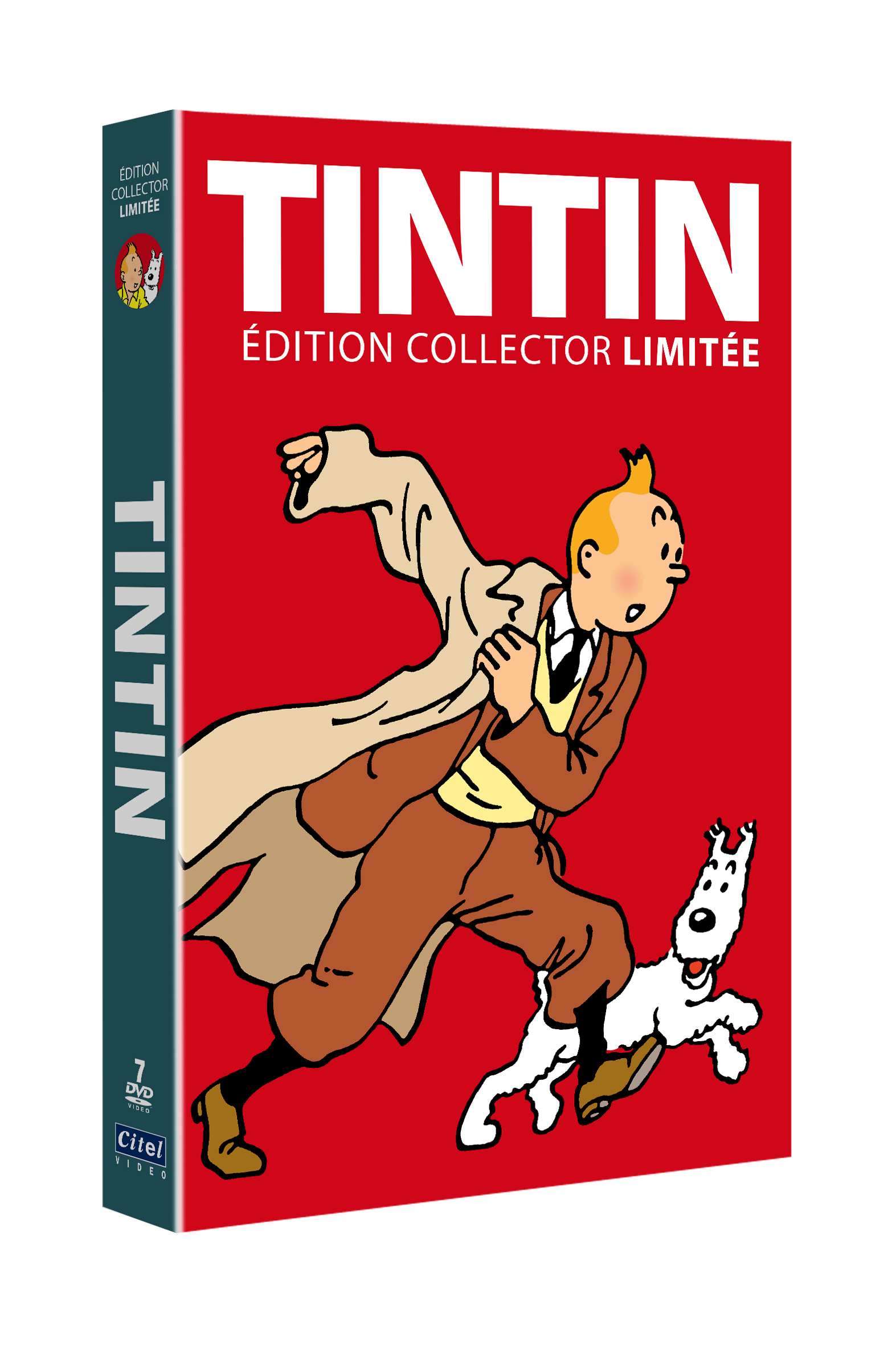 TINTIN - COFFRET COLLECTOR EDITION LIMITEE GRAND FORMAT