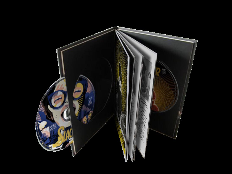 SLACKER BOOK (Livre Collector + film)