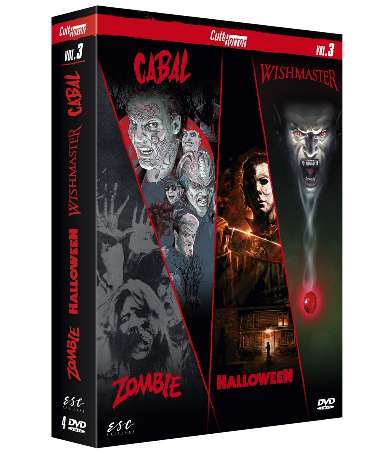 CULT'HORROR VOL 3 / 4 DVD