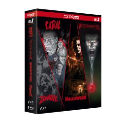 CULT'HORROR VOL 3 / 4 BLU-RAY