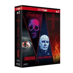 CULT'HORROR VOL 2 / 4 BLU-RAY