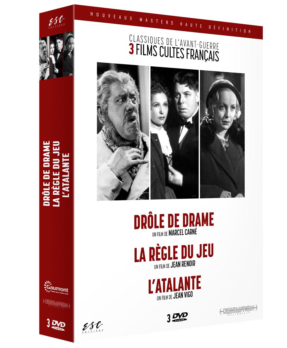 CLASSIQUES DE L'AVANT-GUERRE 3 DVD