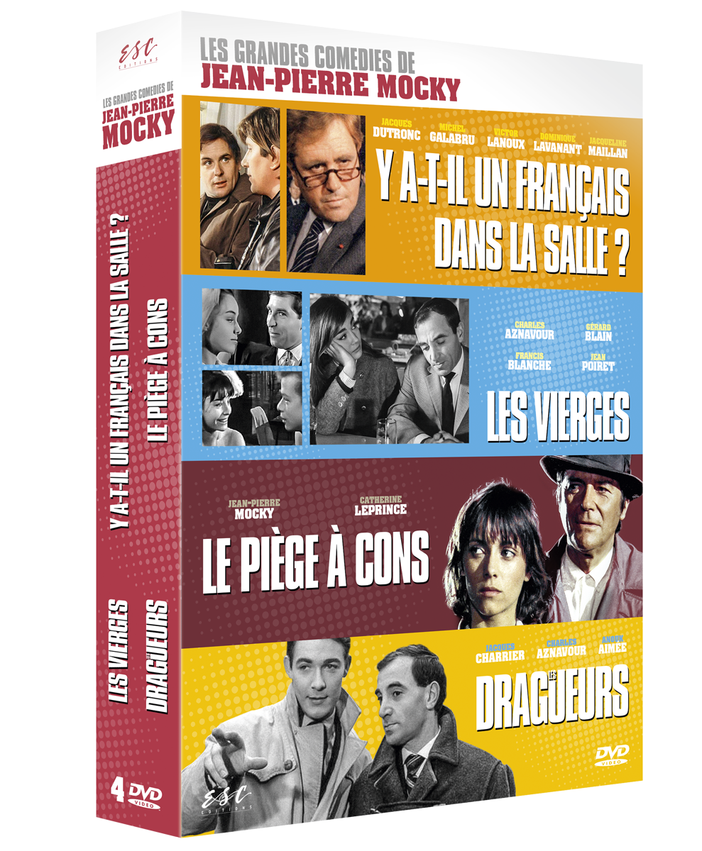4 COMEDIES  DE JEAN-PIERRE MOCKY 4 DVD