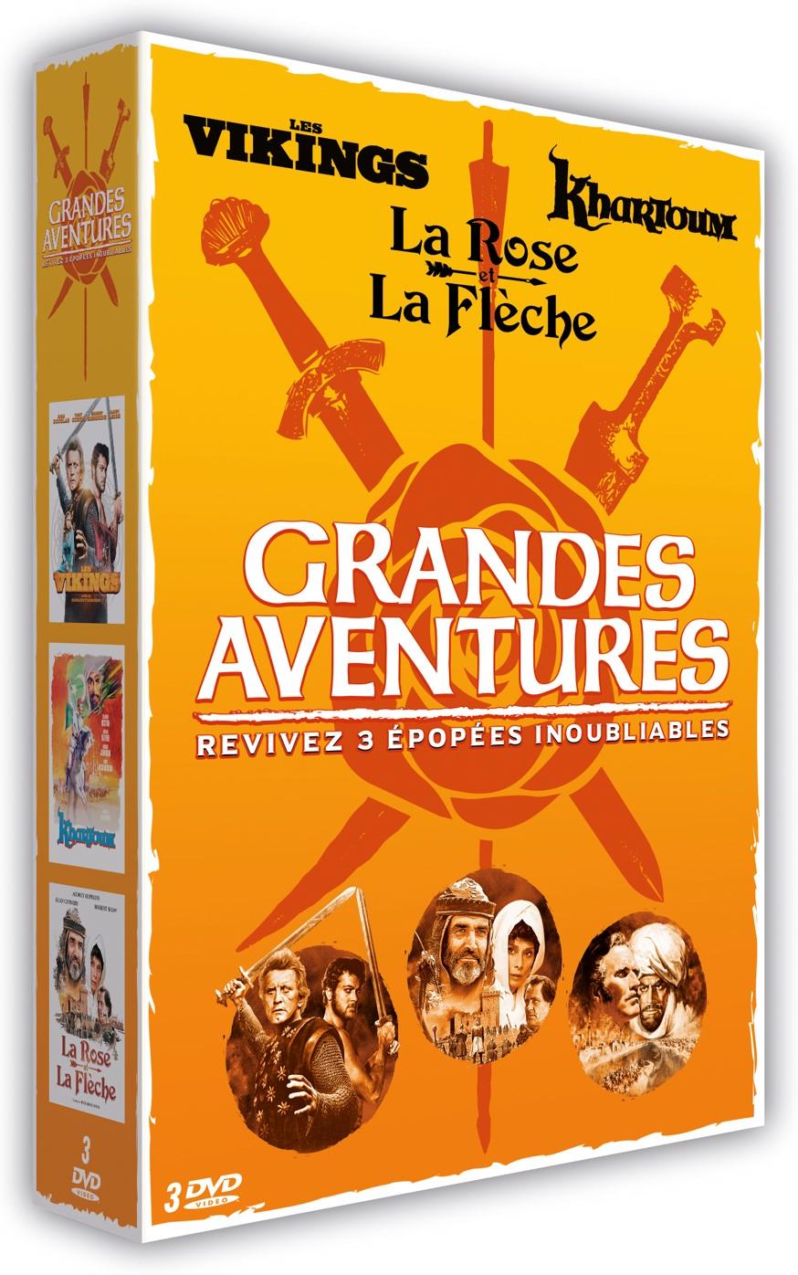 LA GRANDE AVENTURE 3 DVD