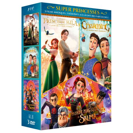 SUPER PRINCESSES - COFFRET 3 DVD