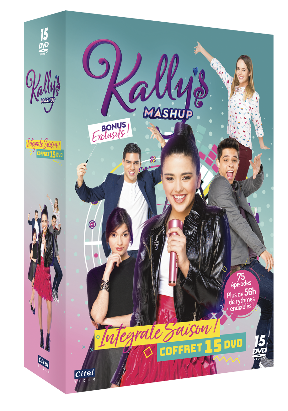 KALLY'S MASHUP Vol.1-2-3 - Cof 15 DVD