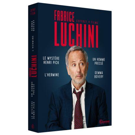 COFFRET FABRICE LUCHINI - 4 DVD