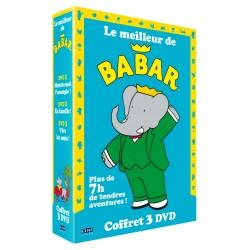 BABAR LE MEILLEUR DE BABAR - COFFRET 3 DVD