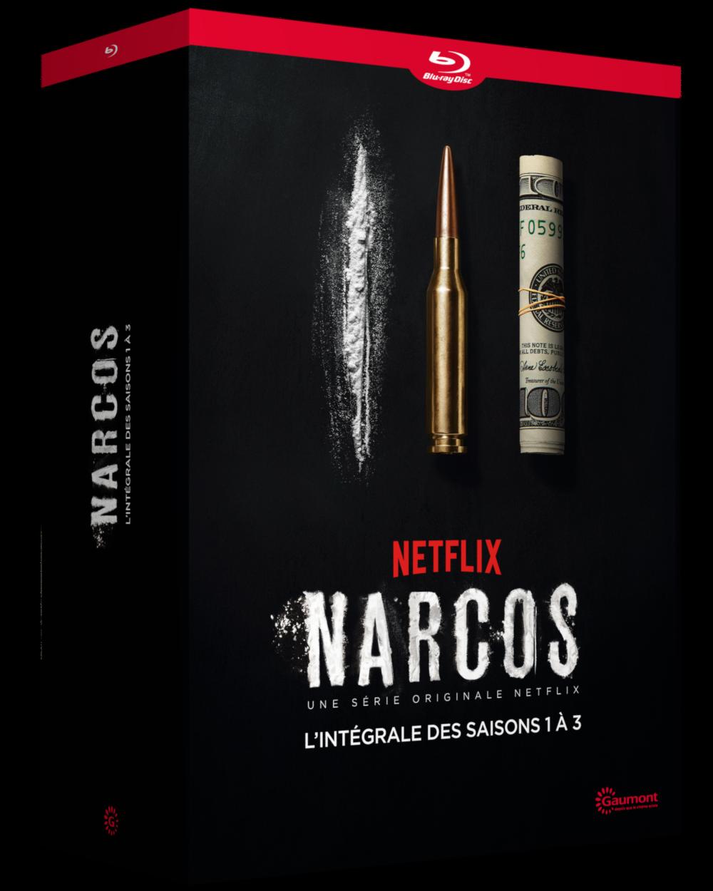 NARCOS L'INTEGRALE DES SAISONS 1 A 3 - 12 BLU-RAY