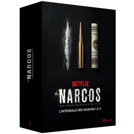 NARCOS L'INTEGRALE DES SAISONS 1 A 3 - 12 DVD