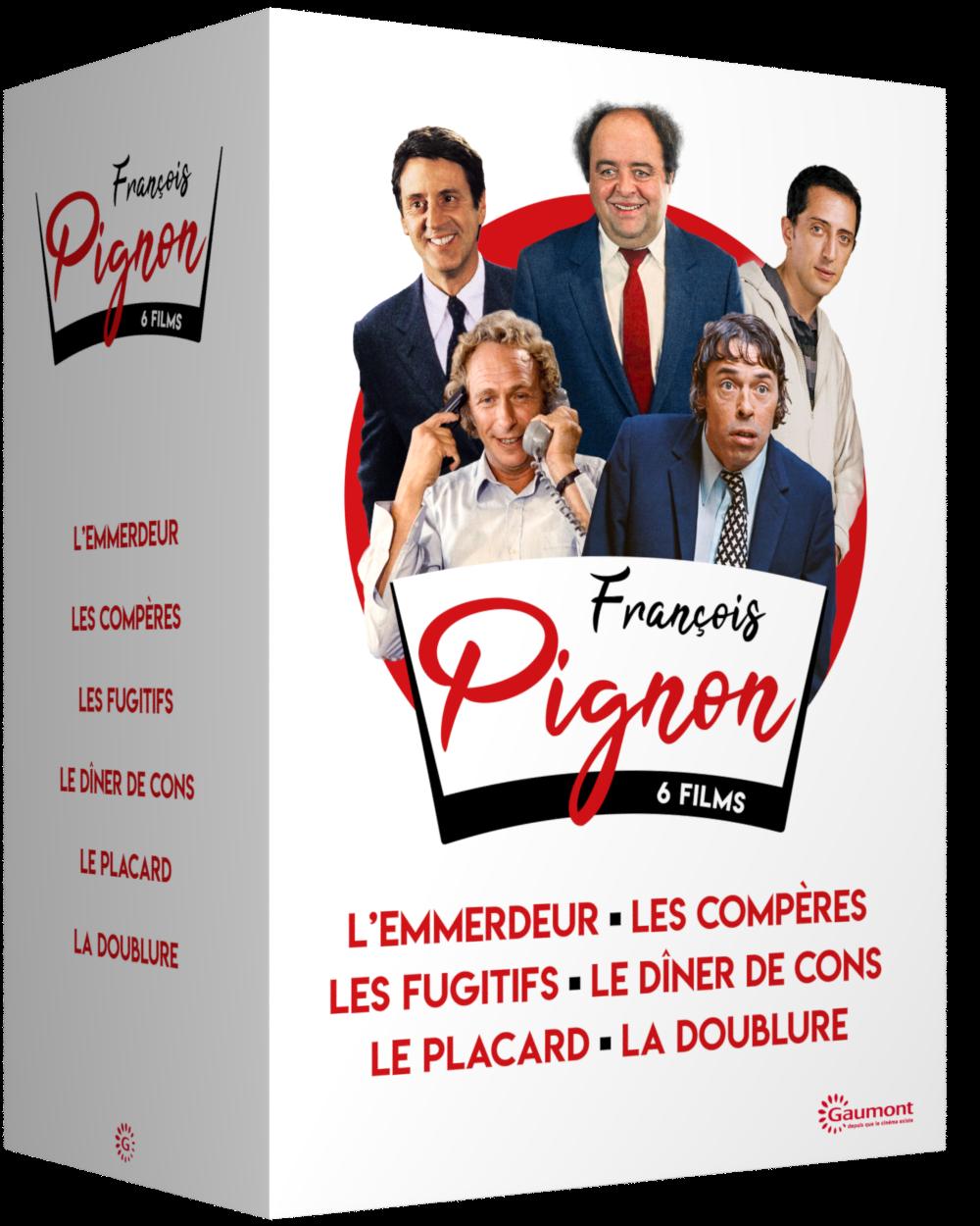 COFFRET FRANCOIS PIGNON - 6 DVD