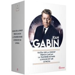 COFFRET JEAN GABIN - 5 DVD