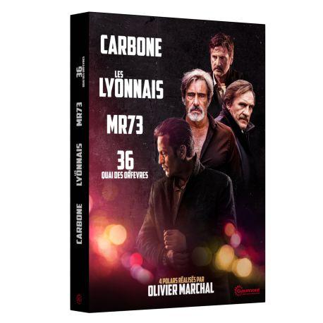 COFFRET OLIVIER MARCHAL - 4 DVD