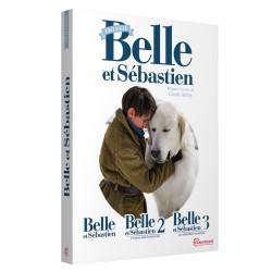 COFFRET BELLE ET SEBASTIEN - LA TRILOGIE - 3 DVD