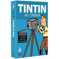 TINTIN AU CINEMA - 3 FILMS D'ANIMATION