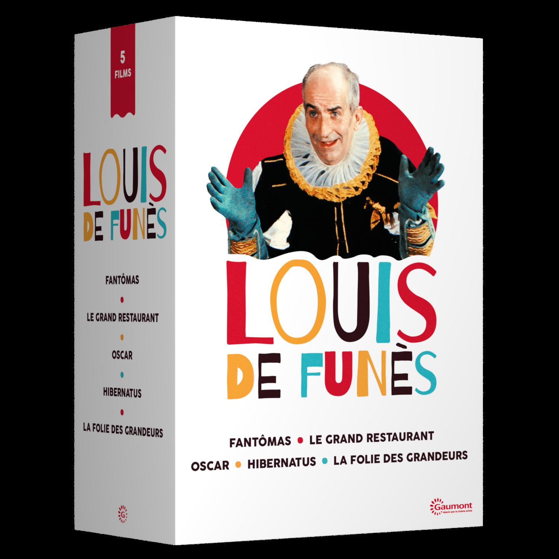 COFFRET LOUIS DE FUNES - 5 DVD
