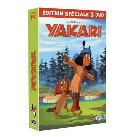 YAKARI : SAISON 4 - VOL.1-2-3 - COFFRET 3 DVD