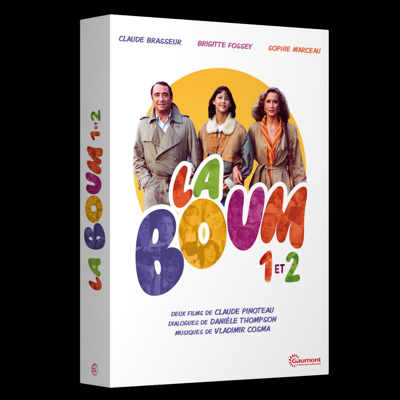 COFFRET LA BOUM - 2 DVD