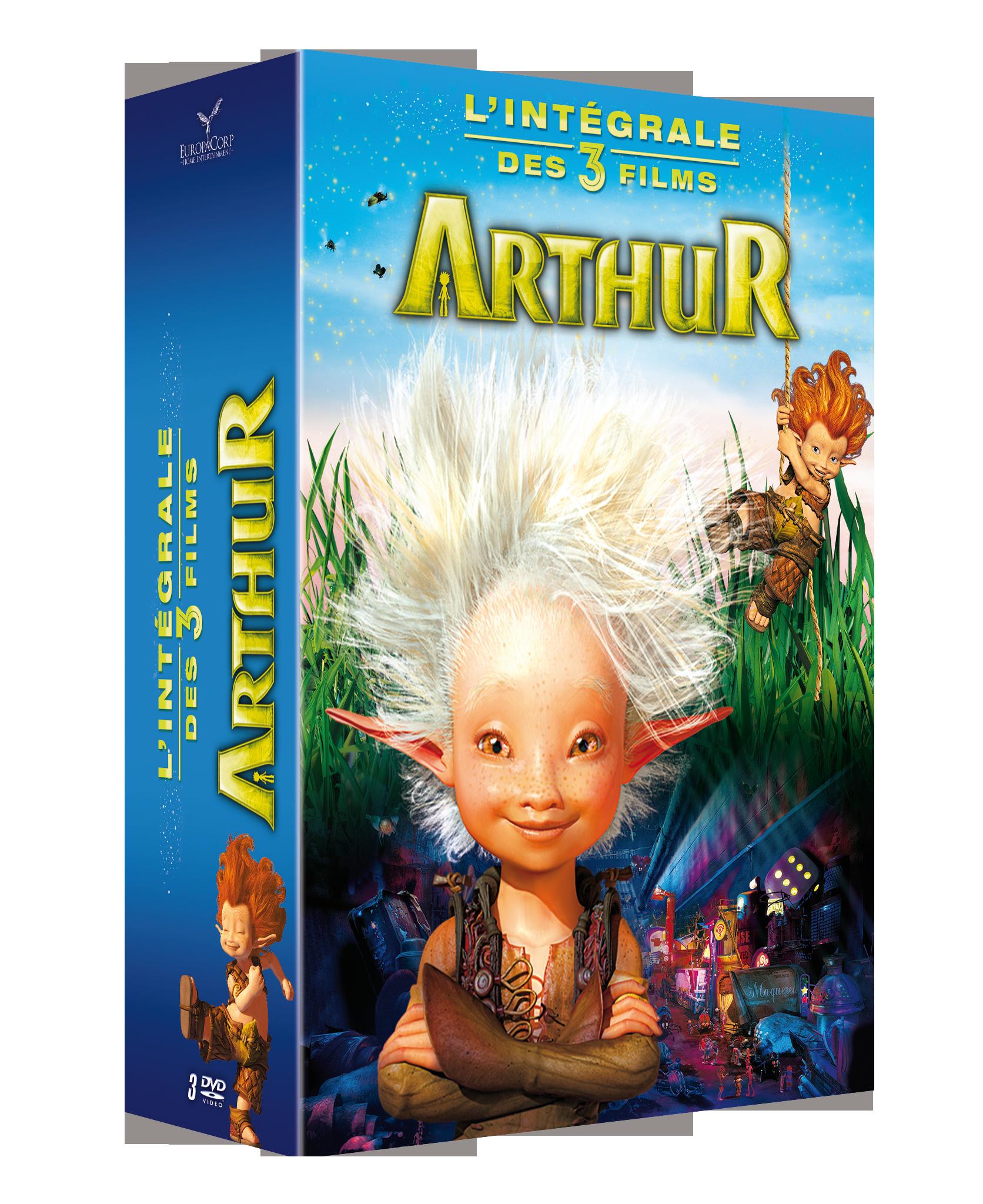 ARTHUR : INTEGRALE DES 3 FILMS (V2017)