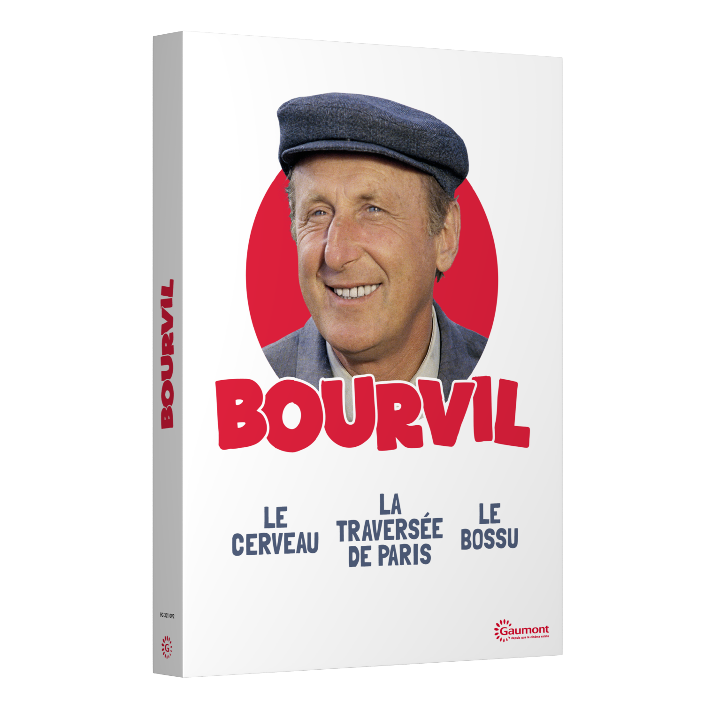 COFFRET BOURVIL - 3 DVD