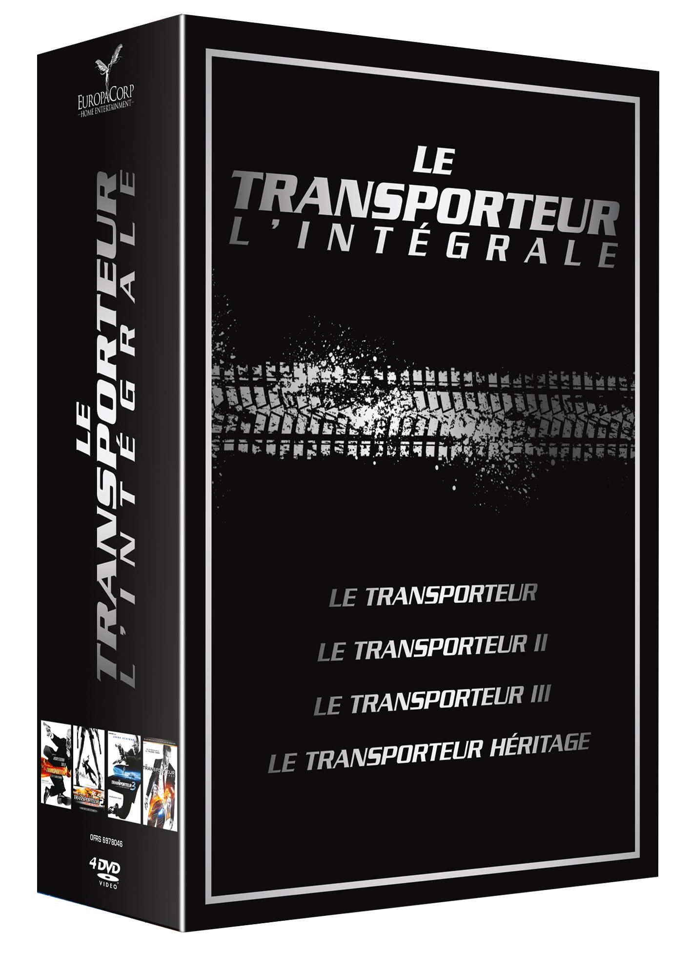 TRANSPORTEUR - L'intégrale 1 à 4 (Le ) DVD