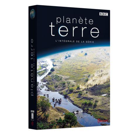 COFFRET PLANETE TERRE L'INTEGRALE DE LA SERIE - 4 DVD