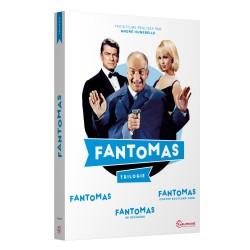 COFFRET FANTOMAS - TRILOGIE - 3 DVD