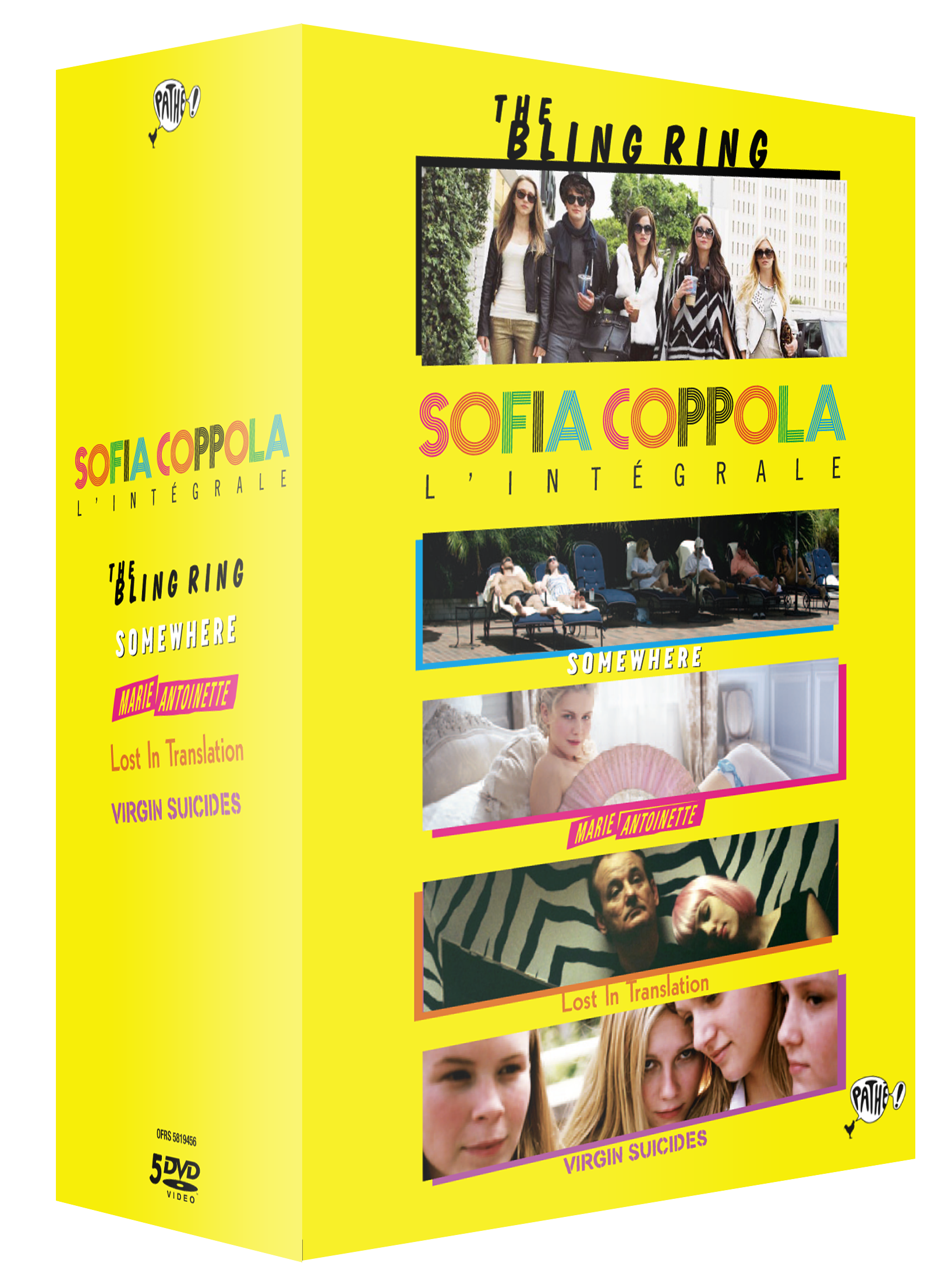 COFFRET SOFIA COPPOLA - 5 DVD