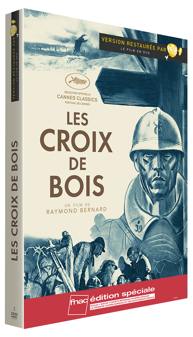 COFFRET - CROIX BOIS (LES)/1914-1918 : 4 COURTS METRAGES MUETS