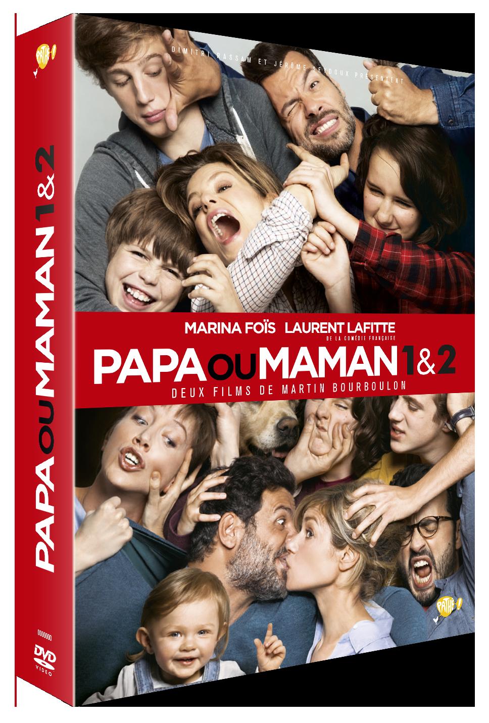 COFFRET - PAPA OU MAMAN 1 ET 2
