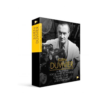 COFFRET JULIEN DUVIVIER - 5 DVD