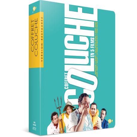 COFFRET COLUCHE - 5 BLU-RAY + 1 DVD