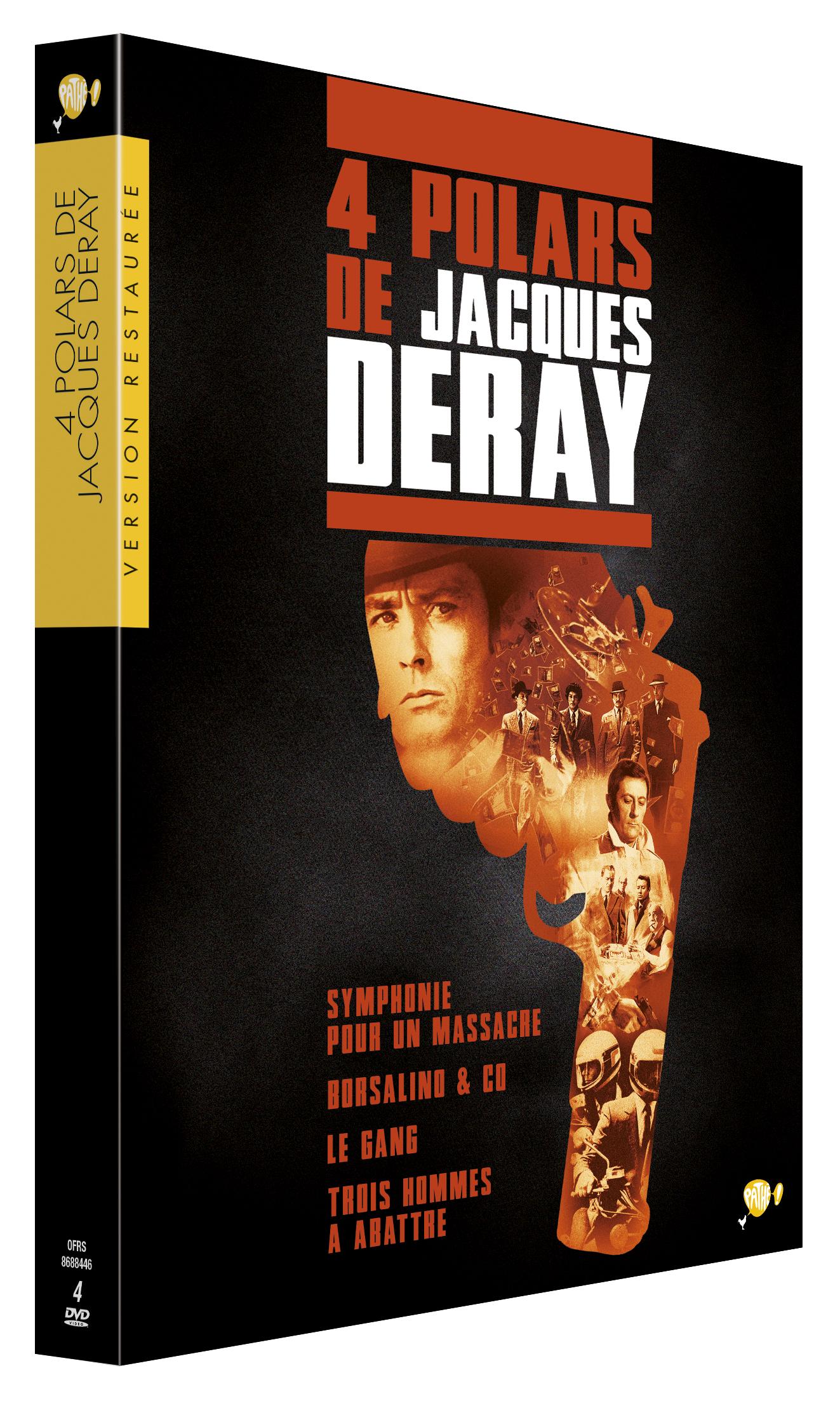 COFFRET JACQUES DERAY  - 4 DVD