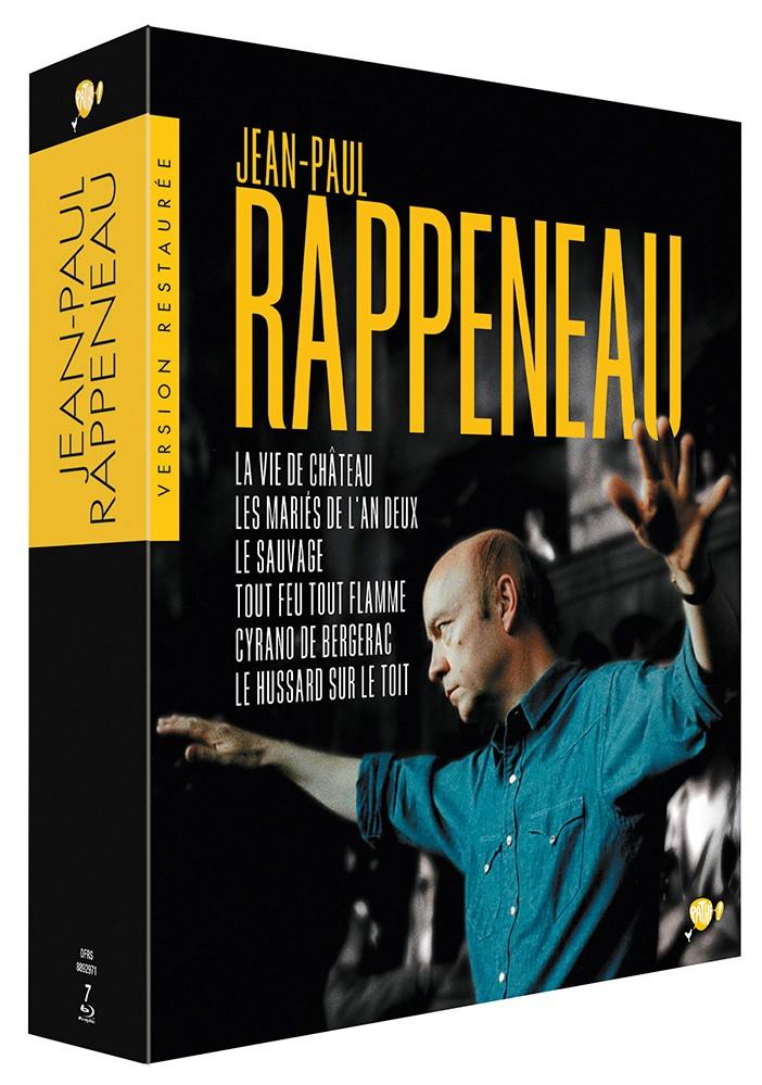 COFFRET JEAN-PAUL RAPPENEAU - 7 DVD